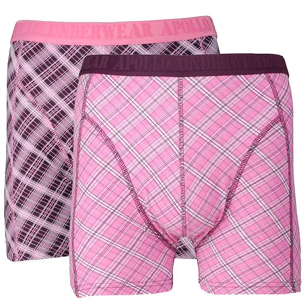 Apollo Underwear heren boxers 2-pack Stripes 05