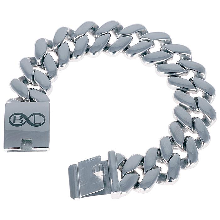 B&L Steel armband Edelstaal Amsterdam