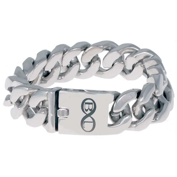 B&L Steel armband Edelstaal Barcelona