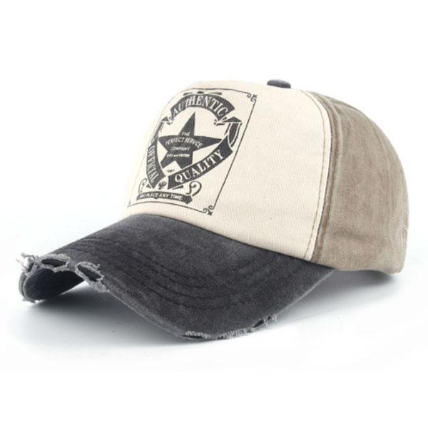Baseball Cap Authentic Vintage Grey