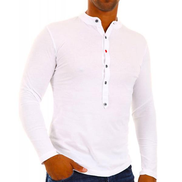 Baxmen Longsleeve shirt Wit