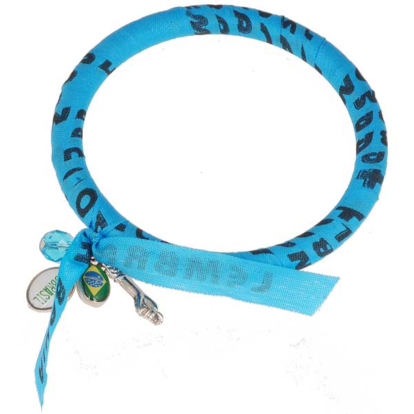 BBBrasil armband Bonfim Blauw