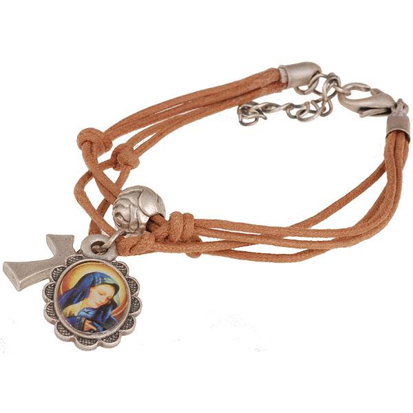 BBBrasil kinder armband Amulet Bedel Bruin