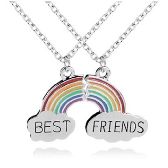 BFF Ketting LGT Jewels Best Friends Regenboog