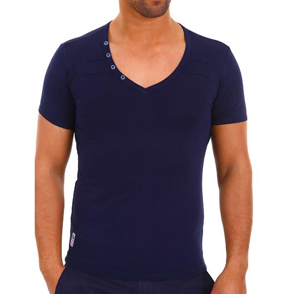 Carisma heren shirt Slim fit Navy
