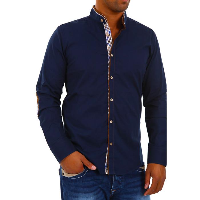 Carisma overhemd Elleboog Lap Navy