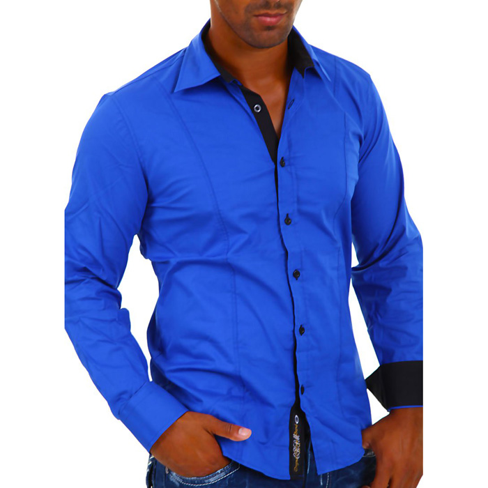 Carisma overhemd Slim-fit Blauw