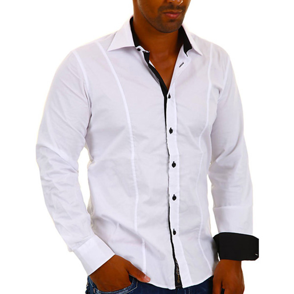 Carisma overhemd Slim-fit Wit
