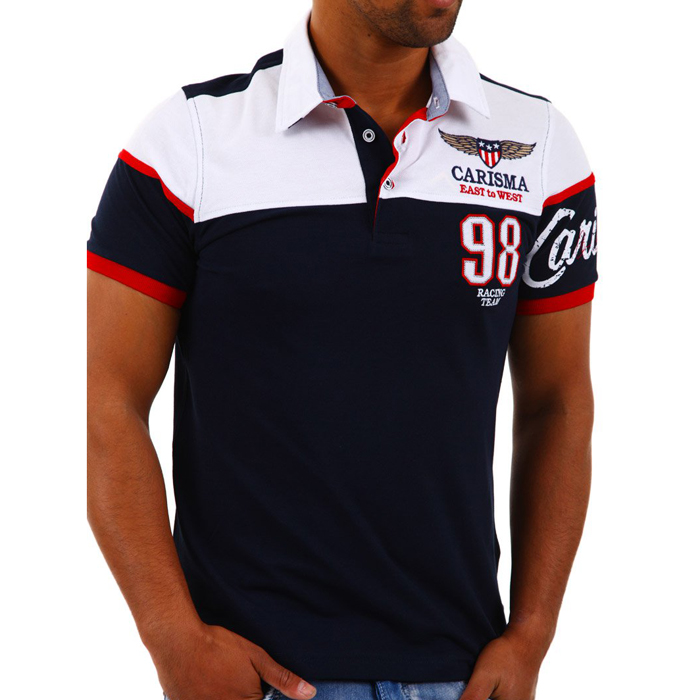 Carisma polo shirt slim fit Navy