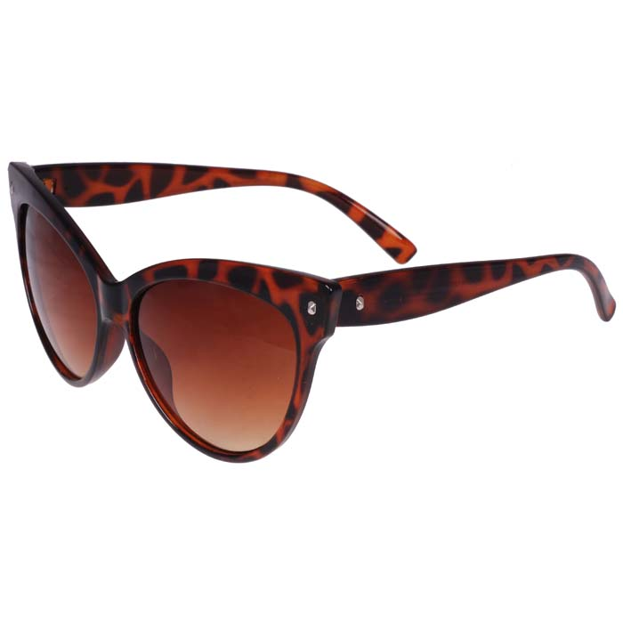 Cat Eye mode zonnebril Leopard