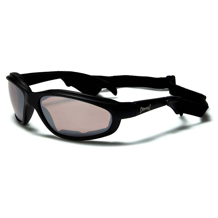 Choppers Goggles Black Mirrored CH01