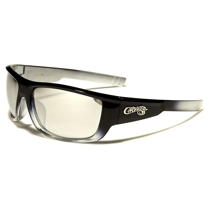 Choppers heren zonnebril Black Silver CP6660