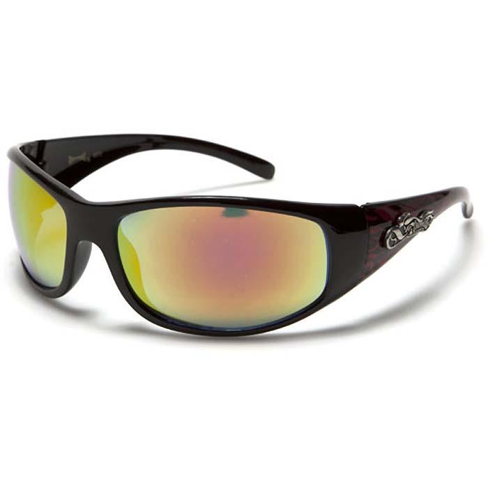 Choppers zonnebril Black Orange Flames CH71