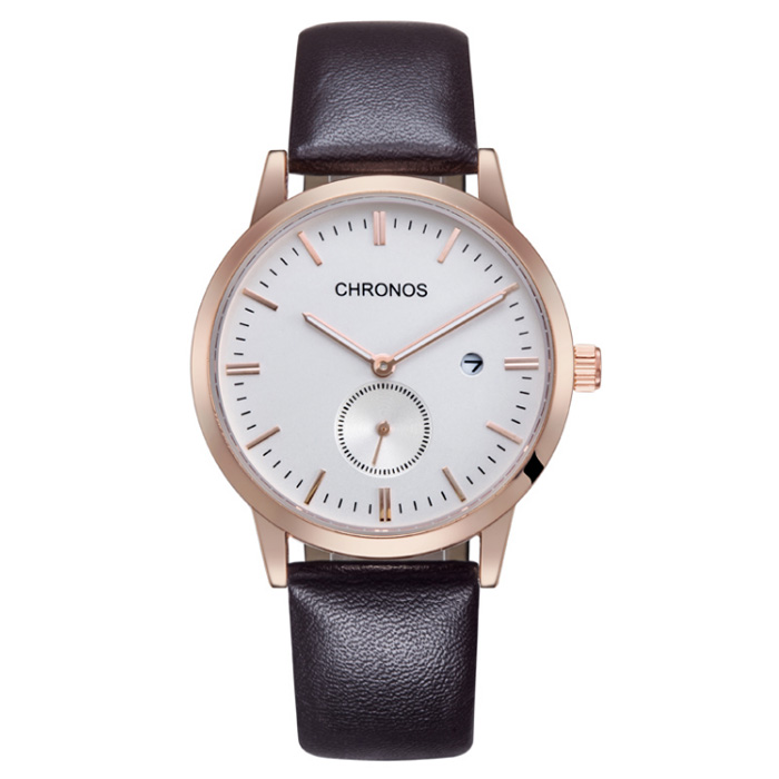 Chronos heren horloge White Rose