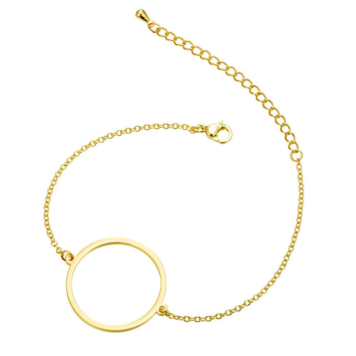 Cilla Jewels Dames Armband Cirkel Goud