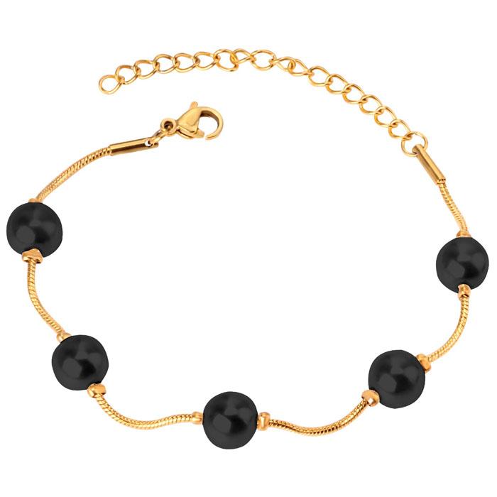 Cilla Jewels Dames Armband met Synthetische Parels Goud