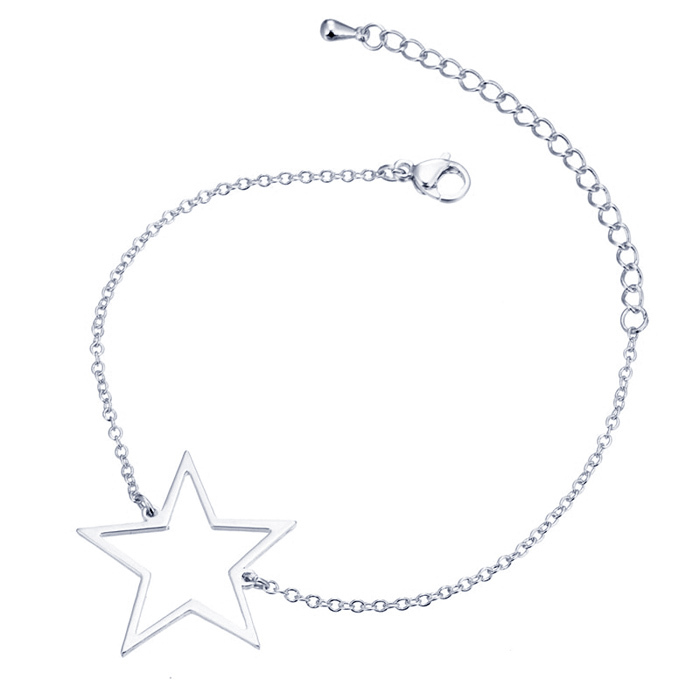 Cilla Jewels Dames Armband Ster Zilver