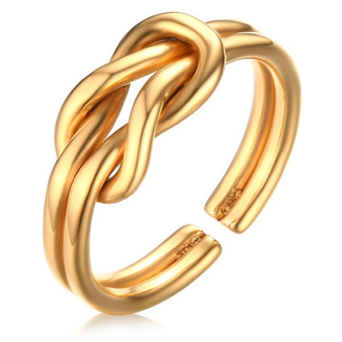 Cilla Jewels ring Infinity Knot Gold