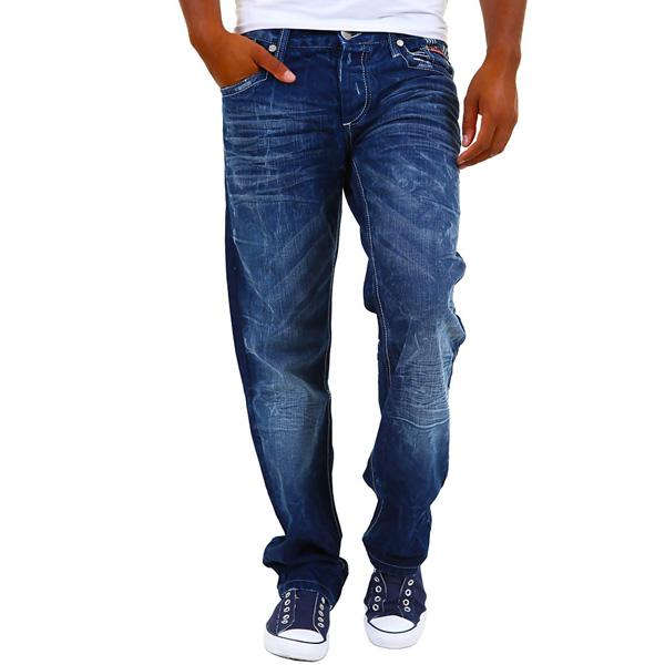 Cipo & Baxx heren jeans Donkerblauw C-781