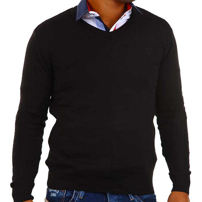 Cipo & Baxx heren Pullover Zwart