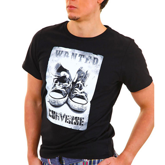 Converse T-shirt Chucks Tee Black