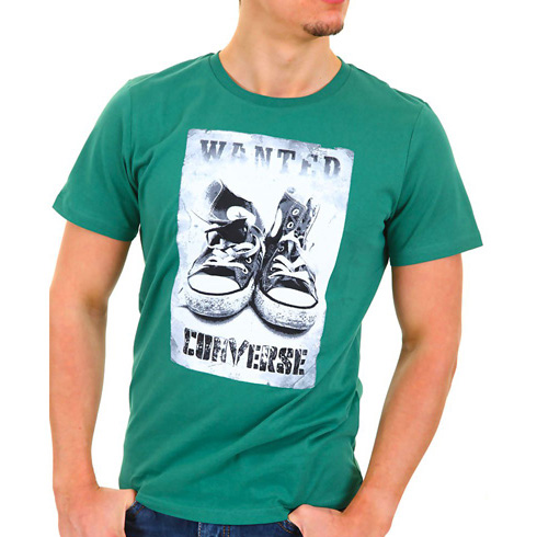 Converse T-shirt Chucks Tee Green