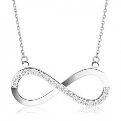 Cilla Jewels ketting Silver Inifinity