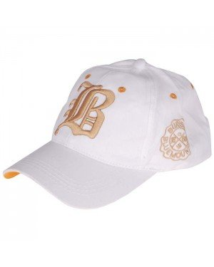 Baseball Cap Burisil Bluemountain White Gold