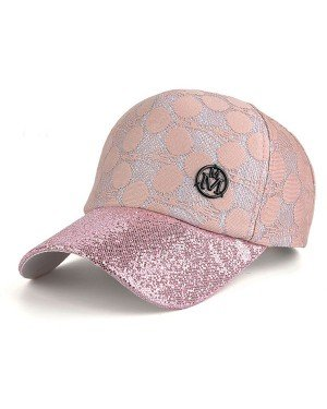 Baseball Cap Knitted Pink
