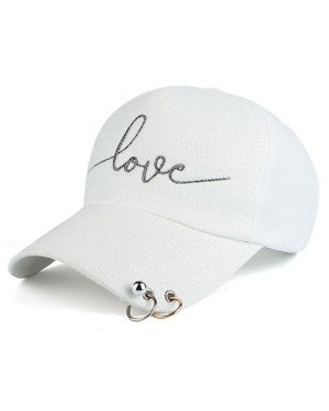 Baseball Cap Love Beige