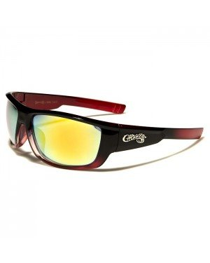 Choppers heren zonnebril Black Red CP6660