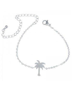 Cilla Jewels armband Palmtree Zilver