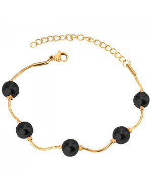 Cilla Jewels Dames Armband met Synthetische Parels Goud