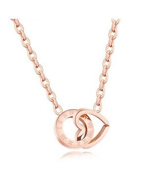 Cilla Jewels dames choker Edelstaal Love Circle Rose