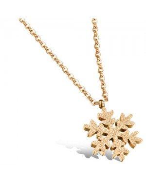 Cilla Jewels ketting Goud Snowflake Pendant