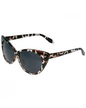 Dames Zonnebril Cat Eye Vintage Animal Print