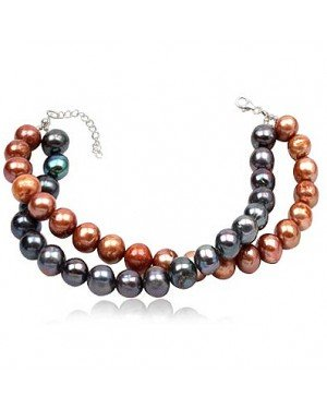 Fashion armband Double Beads