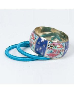 Sarlini fashion bangle Blauw