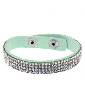 Fashion dames armband Glitter Mint bz-523
