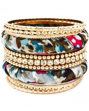 Fashion dames bangle Mirre Goud