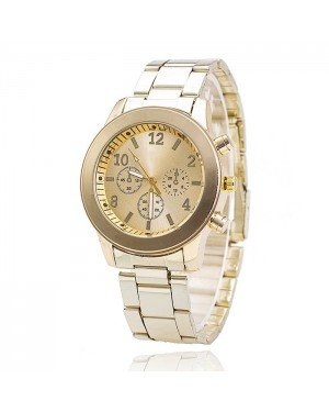 Geneva Fashion horloge Chrono Gold