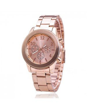 Geneva Fashion horloge Chrono Rose