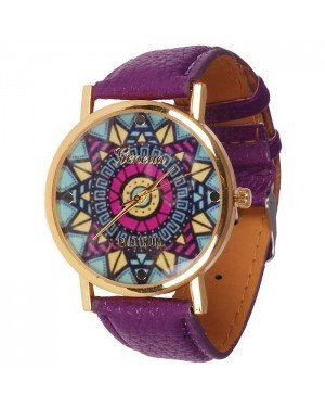 Geneva fashion horloge Ibiza Purple