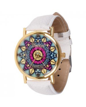 Geneva fashion horloge Ibiza White