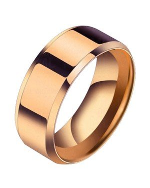 Heren ring Titanium Rose 8mm