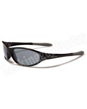 Kids zonnebril Xloop Zwart