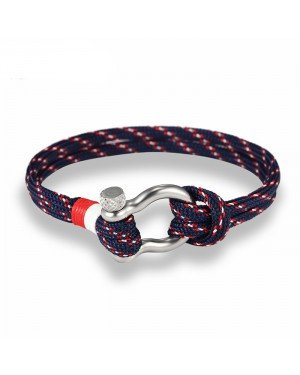LGT Jewels Marine armband Navy Blue Red