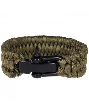 LGT Jewels Paracord armband Army Green