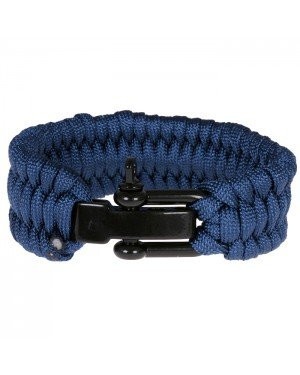 LGT Jewels Paracord armband Blue