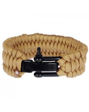 LGT Jewels Paracord armband Sand